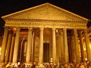 Pantheon õhtul