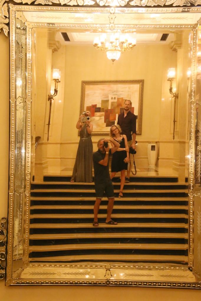 Hotellis enne õhtusööki