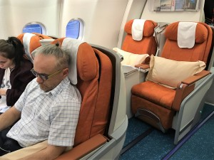 Air Mauritius - business class